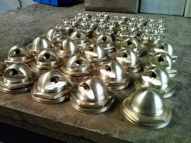 Brass fuel fittings