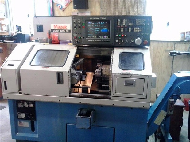 mazak quick turn 8 cnc lathe