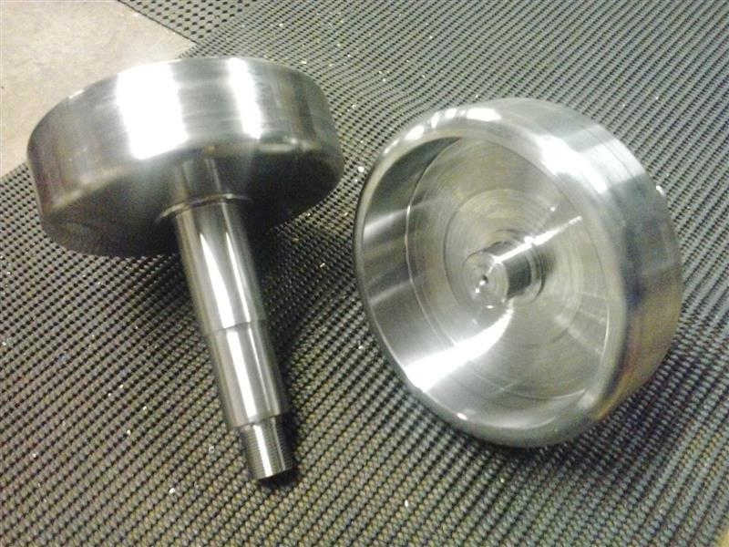 Emalex Turning machine 6 wheel drive components
